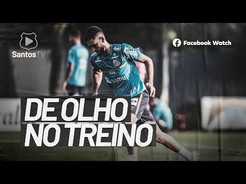 COM PRESENÇA DE WAGNER, SANTOS VOLTA AOS TREINOS NO CT