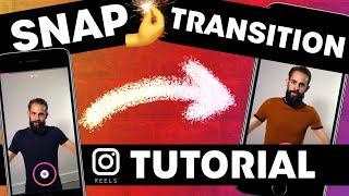How to do transitions in Instagram Reels | Snap/Jump Cuts