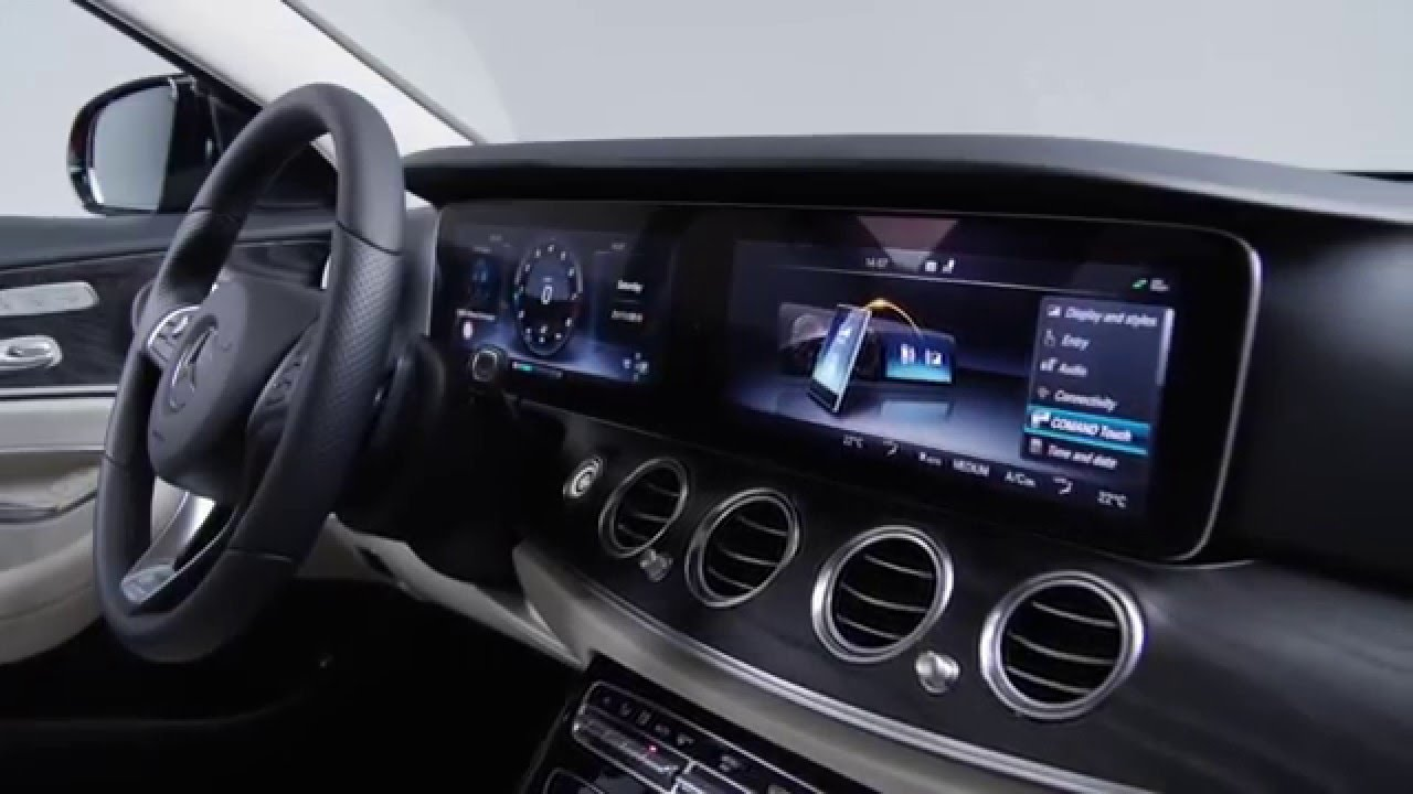 Sneak peek interieur e klasse 2016 youtube for Interieur mercedes c klasse