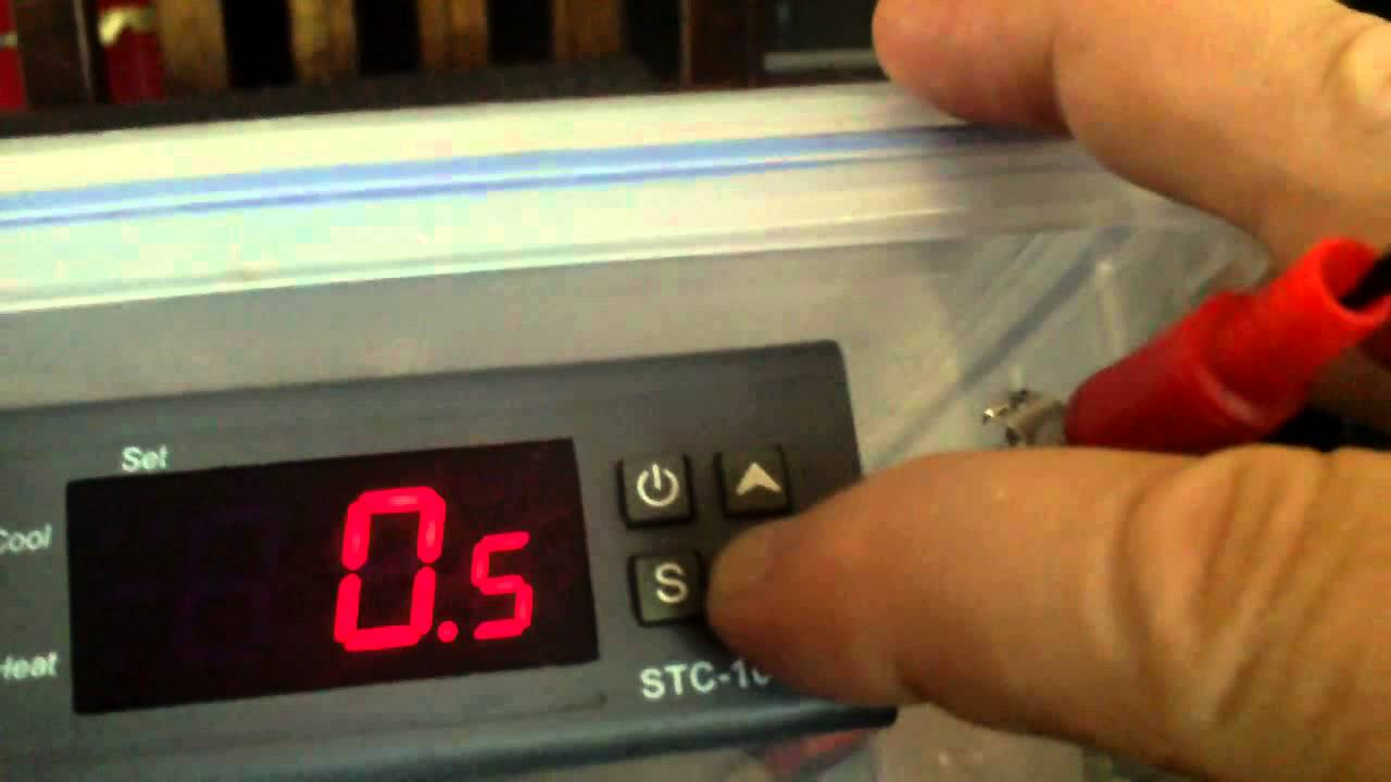 How To Program A Stc 1000 Temperature Controller Youtube