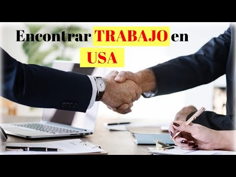 💲 Como encontrar trabajo en USA😅