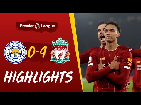 Leicester City 0-4 Liverpool | Superb Trent strike helps rout Leicester | Highlights