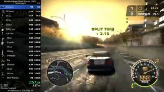 Need For Speed Most Wanted Speedrun - any% World Record 7:09:47