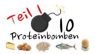 Proteinbomben (1.Teil) - 10 eiweißreiche Lebensmittel ohne Fleisch