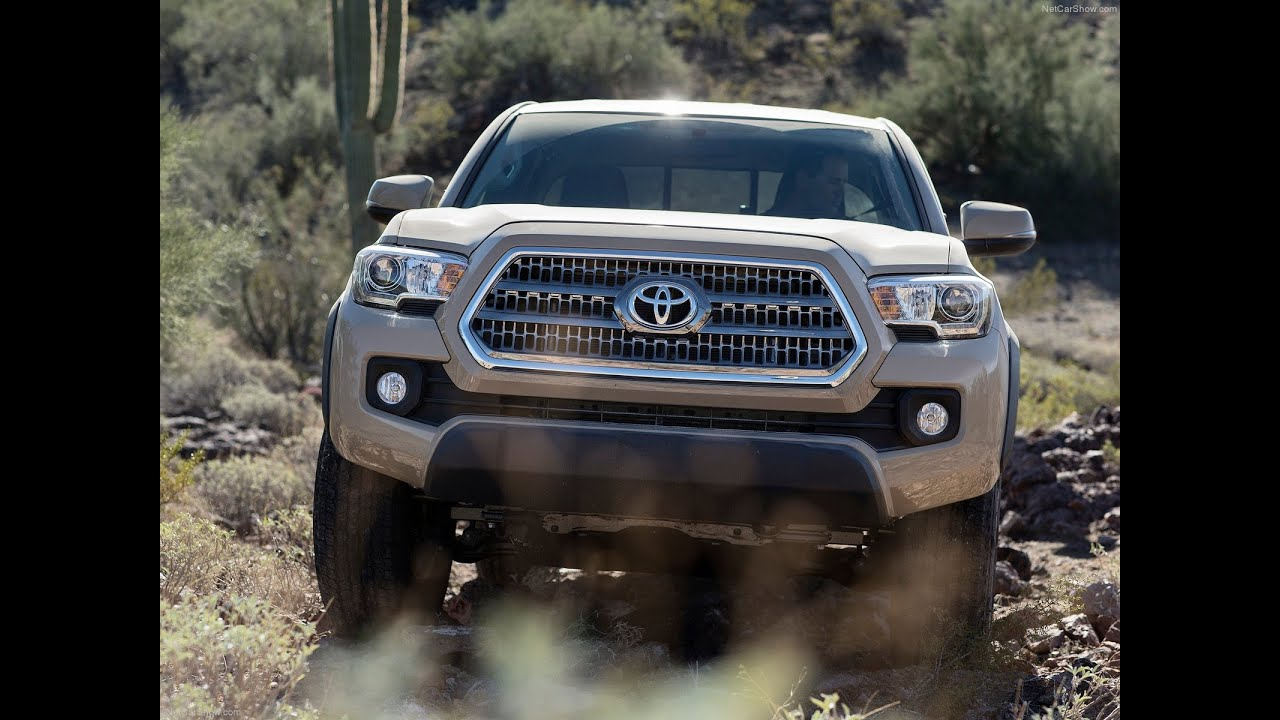 2017 Tacoma Trd Sport Price >> 2016 Toyota Tacoma TRD Off-Road V6 Six-Speed Manual - YouTube