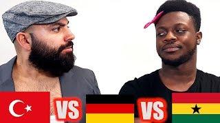 TÜRKE vs DEUTSCHER vs AFRIKANER - JokaH Tululu