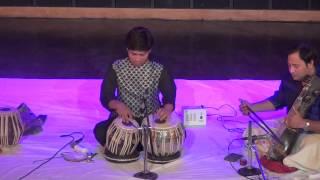 Shariq Mustafa Tabla solo @Ustad Ahmad Jaan Thirakwa Music Festival