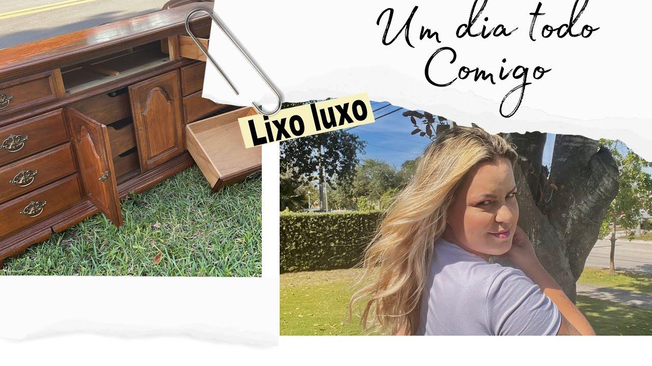 DE VOLTA AO LIXO LuXO /DIA REAl DOMINGÃO☀️