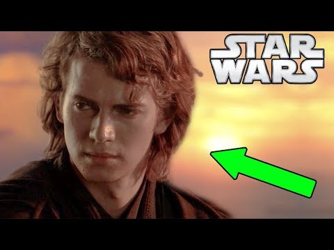 The Force Power Anakin used HERE and his Thoughts - Star Wars Explained