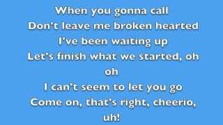 Karmin - BrokenHearted - Lyrics
