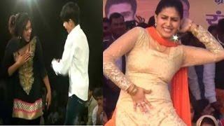10 स ल क लड क क स थ ड सर क व ड य ड सर सपन क न म पर व यरल   sapna dancer viral video