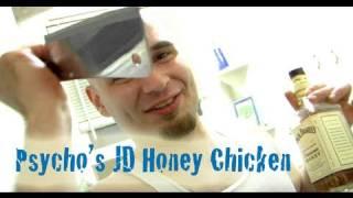 Psycho The Chef - Honey Bourbon Chicken And Rock Shrimp Paella