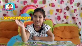 Learn eniglish :  the numbers 11 - 20 :  Melis TV