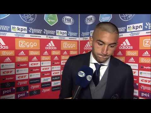 Interview Ziyech verloopt niet soepel na winst tegen Groningen