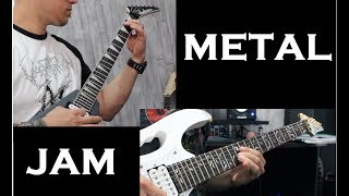 Metal Jam with my student!