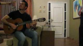 Latin popstar Dilvo sings Eppu Normaali (Suolaista Sadetta)