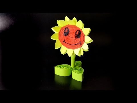 How to Make Plant vs Zombie Sunflower Craft