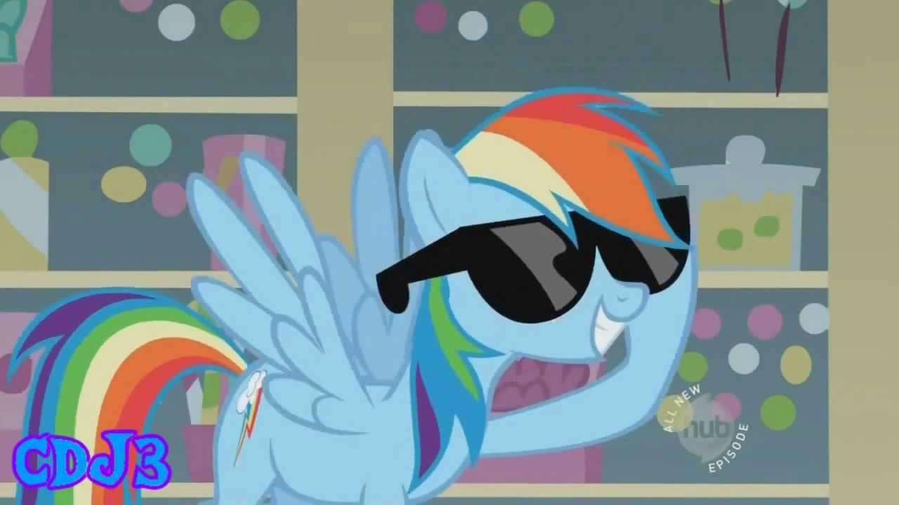 The Master Of Sonic Rainboom Rainbow Dash