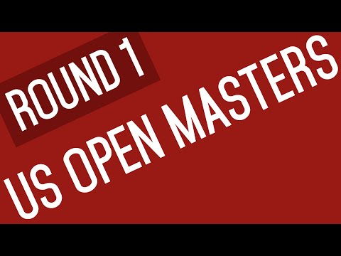 2016 US Open Master R1, Zirui Song 1p (W) vs. Bowen Man 7d (