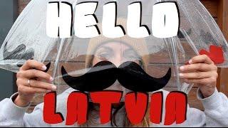 Hello Latvia | Вильнюс - Броцены | #London2Moscow VLOG_14