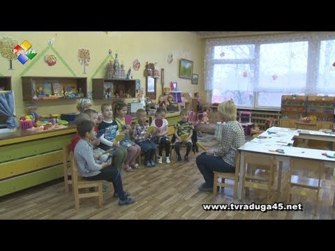 В детском саду «Рябинка» помогают малышам правильно и красиво говорить