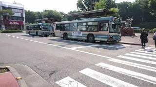 西武バス飯能営業所KL-LV280並ぶor発車