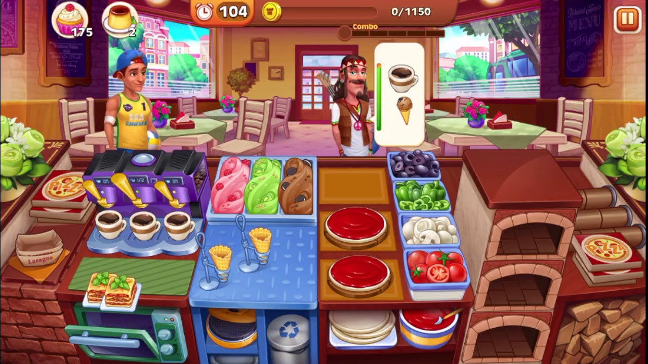 Cooking madness kitchen frenzy level 279 2 no boosters