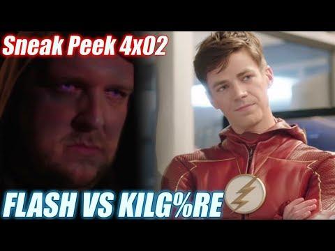 The Flash 4x02 - FLASH VS KILG%RE - Sneak Peek