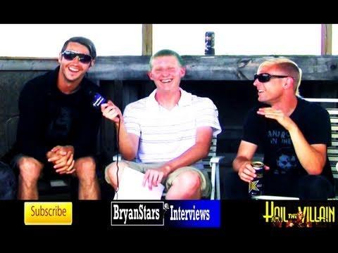 Hail The Villain Interview Bryan Crouch UPROAR 2010