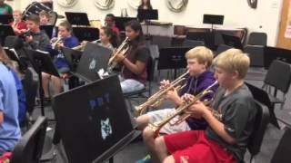 PRT Band 7th Grade Count Rockula