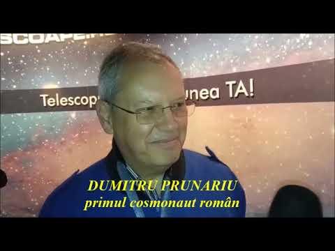 Dumitru Prunariu despre Lună