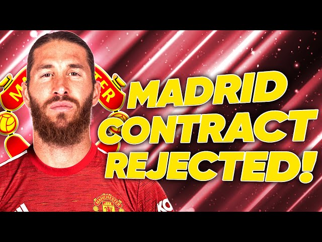 Sergio Ramos To Join Manchester United After Real Madrid Contract REJECTION! | #TransferTalk