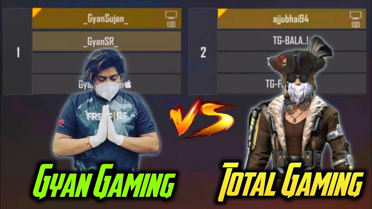Download Total Gaming Team Vs Gyan Gaming Team Clash Squad Fight In Custom Room Gyan SR - Garena Free Fire