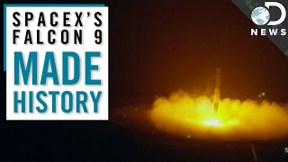 SpaceX Makes History With An Epic Rocket Landing