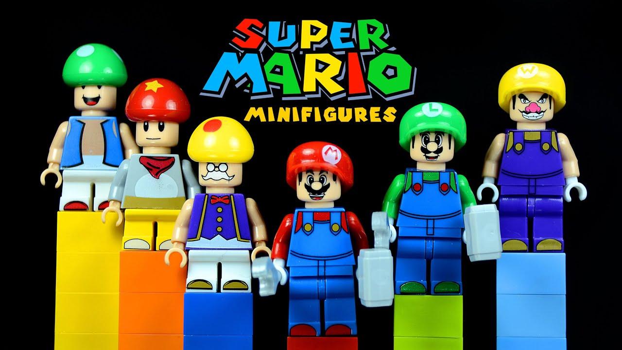 Legos For Adults Lego Super Mario Bros Knockoff Minifigures With Mario