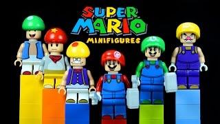 LEGO Super Mario Bros. KnockOff Minifigures with Mario Luigi & Toad