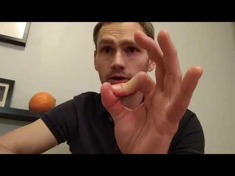 Как порвать связки пальца