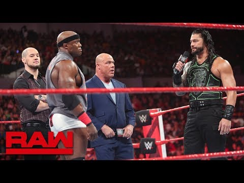 Brock Lesnar\'s contractual negotiations hit a snag: Raw, June 25, 2018