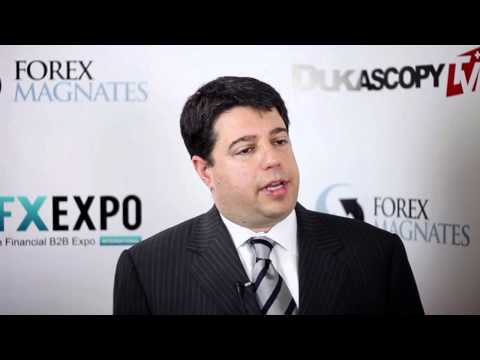 Drew Niv, FXCM at iFXEXPO 2013 Interview by Dukascopy TV