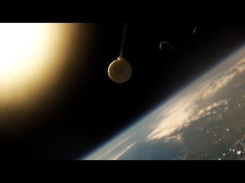 High Altitude Balloon | Cancellino nello Spazio | GoPro Stra