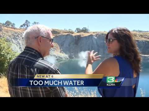 Tuolumne County mine has too much water despite drought