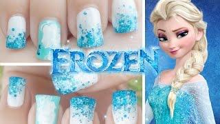 Nail Art - Diseño de uñas Frozen Minimalista thumbnail