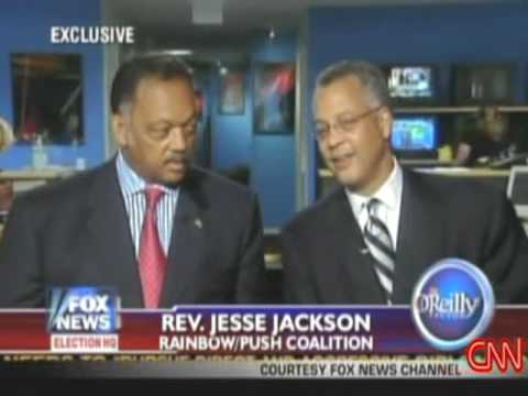 JESSE JACKSON makes crude remarks about OBAMA on Fox News