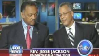 JESSE JACKSON makes crude remarks about OBAMA on Fox News thumbnail