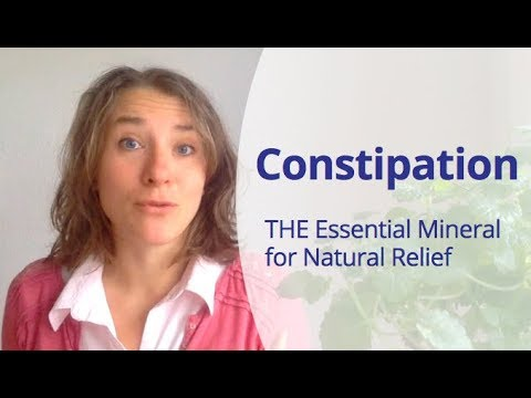Magnesium For Constipation - The Essential Mineral To Heal Your Gut