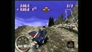 Jet Moto 2 PlayStation Gameplay - Jet Moto 2