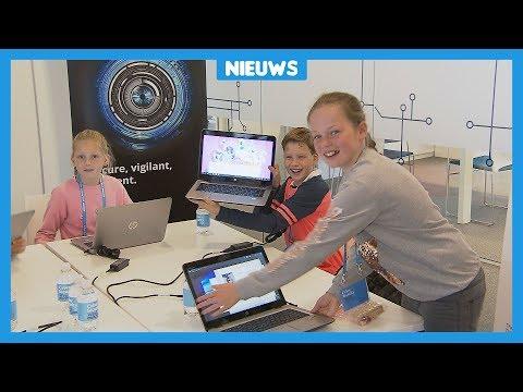 Kinderen in Den Haag leren hacken