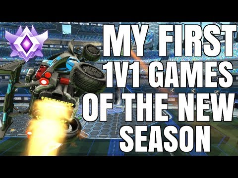 DOING MY 1V1 PLACEMENTS FOR THE NEW SEASON | CEILING SHOT DOUBLE TAP | GRAND CHAMPION 1V1