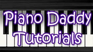 The Jungle Book (Theme Song) Piano Tutorial ~ Piano Daddy