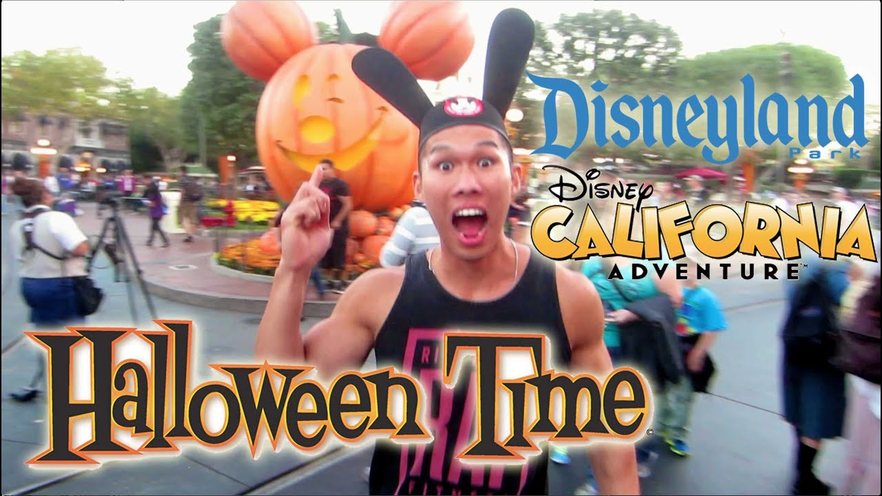 a day at halloween disneyland california adventure vlog ep 277 youtube - When Does Disneyland Decorate For Halloween